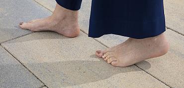 Met je blote voeten op je terras?